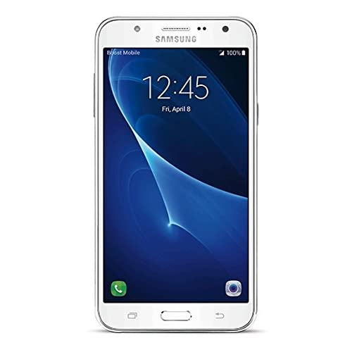 Samsung Galaxy J7 - No Contract Phone - White - (Boost Mobile)(Carrier