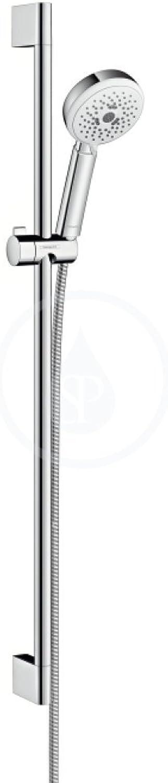 Hansgrohe Brausenset Crometta 100 Multi EcoSmart Unica 900mm weiss chrom, 26659400