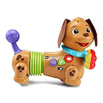 VTech Rattle & Waggle Learning Pup,Multicolor