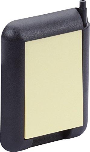 hr-imotion Notizblock selbstklebend mit Kugelschreiber [Made in Germany | inkl. Tesa Stripes | Schreibfläche: 50 x 75 mm] - 10311101