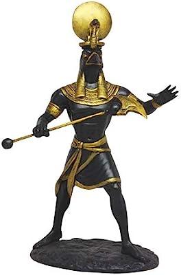 11 Inch Ra Egyptian Mythological Guardian God Statue Figurine