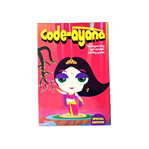 Code-Ayana by The Pretty Geeky  Coding Fundamentals Game  STEM Learning Game for 4+ Years Kids   Made in India