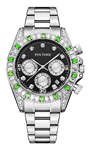 PINTIME - Herren -Armbanduhr- PTWU-00008-SWG
