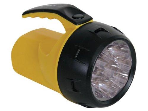 Velleman Lampe-torche led puissante - 9 led - avec 4 piles R6