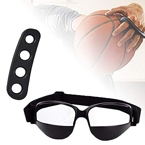 Broadsheet Basketball Training Dribble Goggles with Basketball Shooting Training Aid, Basketball Training Equipment Aids for Youth and Adult