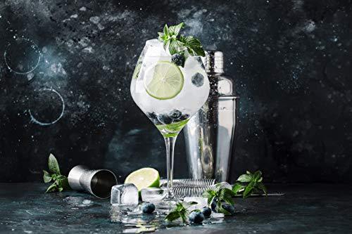 CocktailMeister Premium Cocktail Shaker Set, Professional Cocktail Mixing Set, Cocktail Set Ideal für Zuhause oder die Bar - 2
