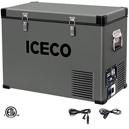 ICECO VL45 Portable Refrigerator 12V Fridge Freezer with...