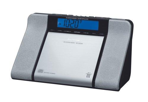 Panasonic RC CD 350 EG S CD-Uhrenradio
