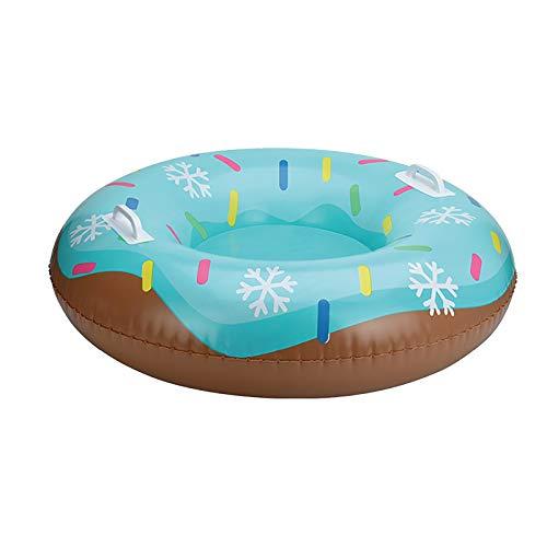 Lulupi Reifen Aufblasbare Schlitten Aufblasbarer Snow Tube Tragbare Verdicken Frostschutz Snowtube Schlitten für Kinder Erwachsene