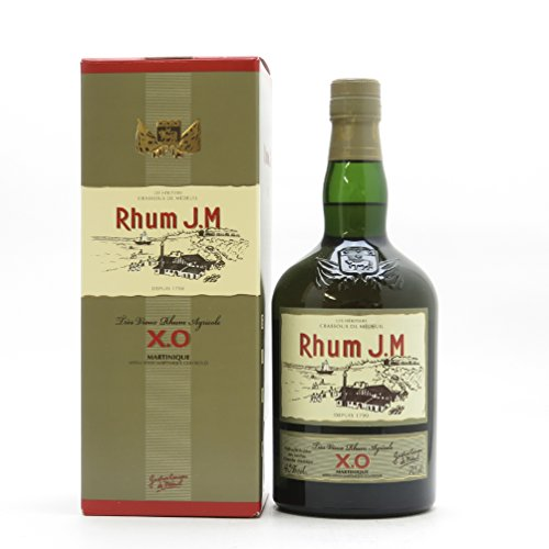 J.M. Coffret Cadeau Tres Vieux XO Rhum 700 ml