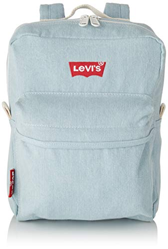 Levi's Levi'sThe L Pack Baby - Iced DenimMujerMochilasAzul (Light Blue) 10x21x28 centimeters (W x H x L)