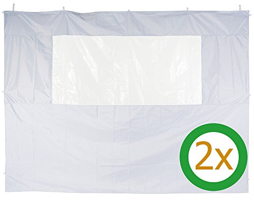 Ondis24 Seitenteil für Pavillon 3x3m wasserdicht für Partyzelt 3x6m, 3x9m (2)