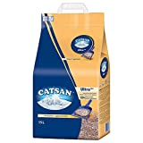 Catsan Ultra Plus 30 litros (2 paquetes de 15 litros) arena aglomerante para gatos
