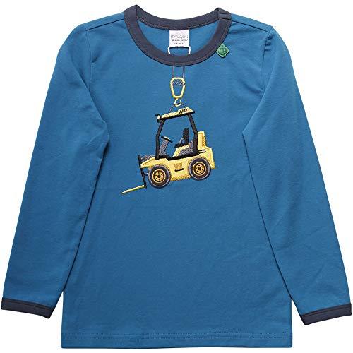 Fred'S World By Green Cotton Hello Truck T T-Shirt, Bleu (Deep Blue 019434202), 74 Bébé garçon