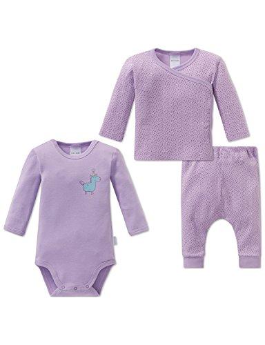 Schiesser Schiesser Baby-Mädchen Einhorn Unterwäsche-Set, Mehrfarbig (Sortiert 1 901), 74 (3er Pack)