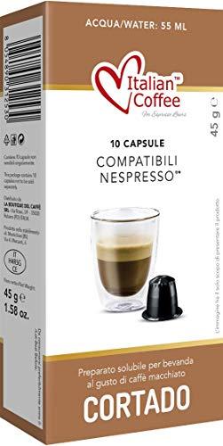 Capsulas Compatibles Nespresso - Cafe Cortado con Leche - 60