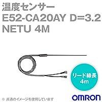 オムロン(OMRON) E52-CA20AY D=3.2 NETU 4M 温度センサ リード線直出形 (耐熱用) (保護管長 20cm φ3.2) NN