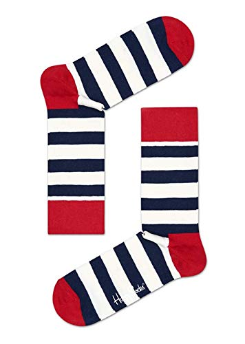 Happy Socks Hssa01 - STRIPE - Chaussettes - Mixte - Multicolore (045) - 36-40 (Taille fabricant: 36-40)