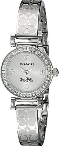 Coach 14502201 Madison Signature acciaio Bangle Glitz Orologio Donna...