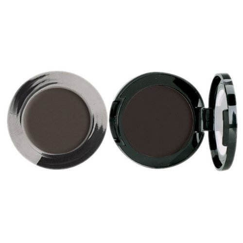 Jolie Cake Eyeliner - Intense Color, Longwearing Matte Finish - Black or Brown (Black)