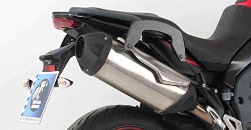 Hepco & Becker C-Bow - Soporte Lateral para Triumph Tiger 1050 Sport (Modelos a Partir de 2013), Color Negro