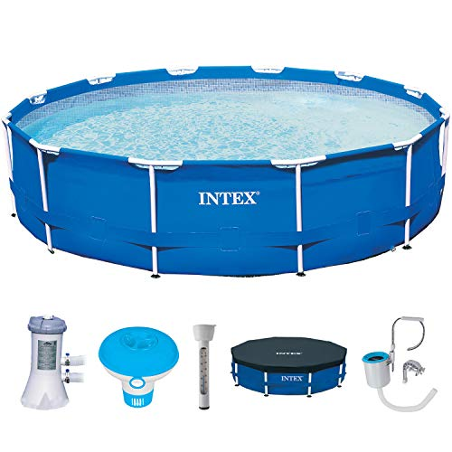 Intex 28214 Frame Pool - Piscina (366 x 84 cm)