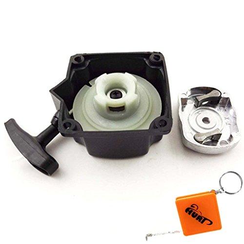 HURI Starter Seilzugstarter inkl. Mitnehmerplatte für Rotfuchs MFT52 Motorsense