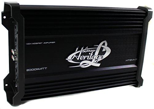 LANZAR HTG447 2000W 4 Channel Car Digital Amplifier Power Amp A/B Stereo MOSFET (Refurbished)