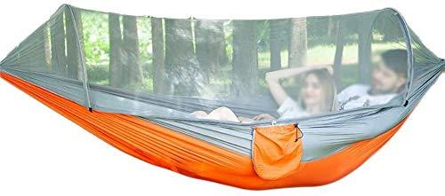 MXXS Garden hammock,portable Single & double encrypted mosquito net Hammocks Outdoor/Garden Leisure camping beach swing bed hanging Ultra-Light Travel Camping Hammock 107
