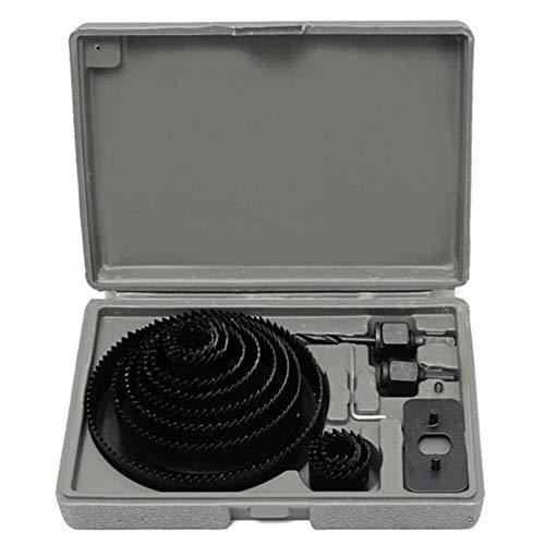 Auoeer 19-127mm 16pcs Agujero consideró Broca de Corte de Madera Herramienta de Trabajo Sierras de Corona