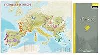 nobrand/ノーブランド フランスワイン地図 ヨーロッパ全土 【業務用】