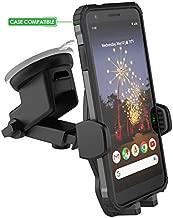 Encased Google Pixel 2 XL/3 XL/ 3a/4/4a//5 Car Mount Holder - Case Friendly Adjustable Dock