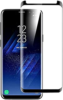 Samsung Galaxy S9 Plus 3D Curved Edge To Edge Tempered Glass Screen Protector - Black