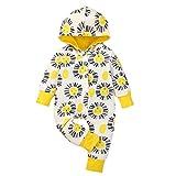 Styledress Neugeborenes Baby Kapuze Baumwolle Strampler Overall Winter wärmer Schneeanzug für...