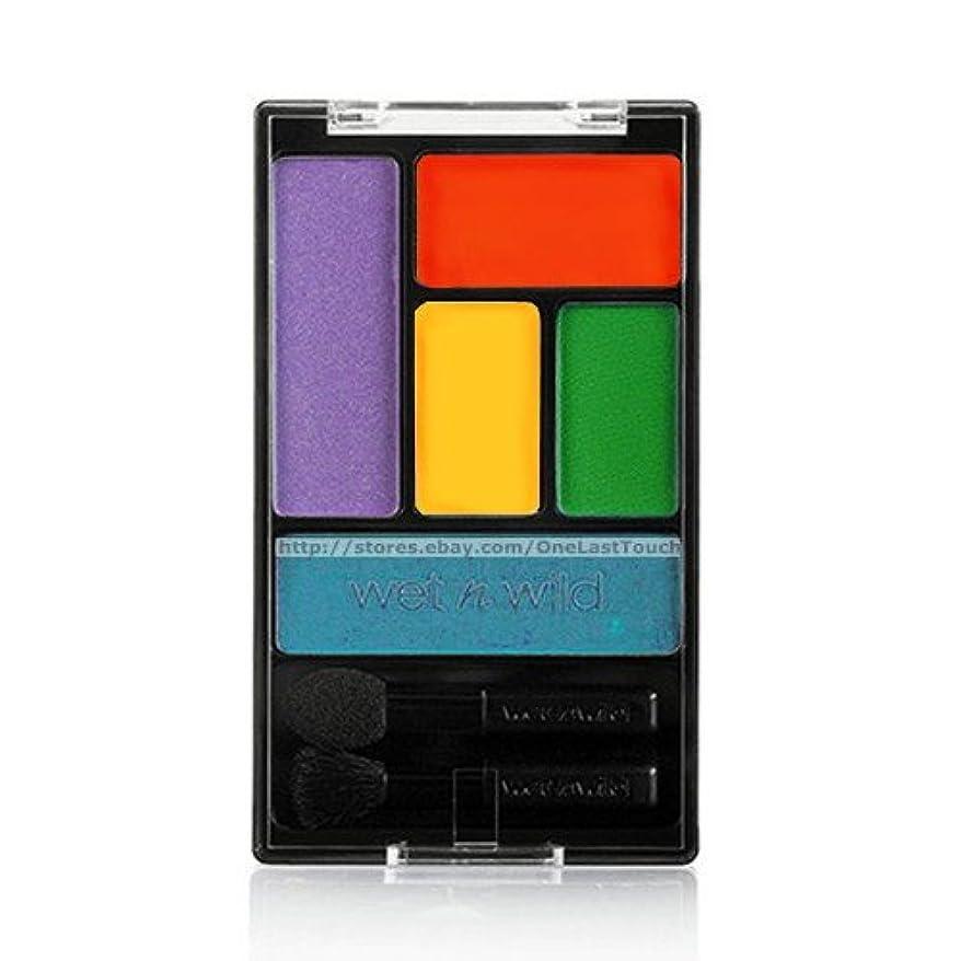 偽花弁スクラップブック(3 Pack) WET N WILD Color Icon Eyeshadow Palette 5 Pan - Art in the Streets (並行輸入品)
