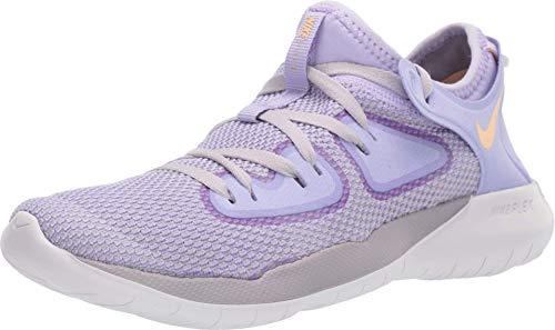 Nike Women's Flex 2019 RN Running Shoes Purple/Gold 6