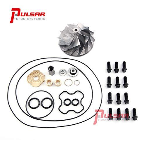 PULSAR Billet Compressor Wheel Rebuild Kit for 94-03 7.3L Turbo