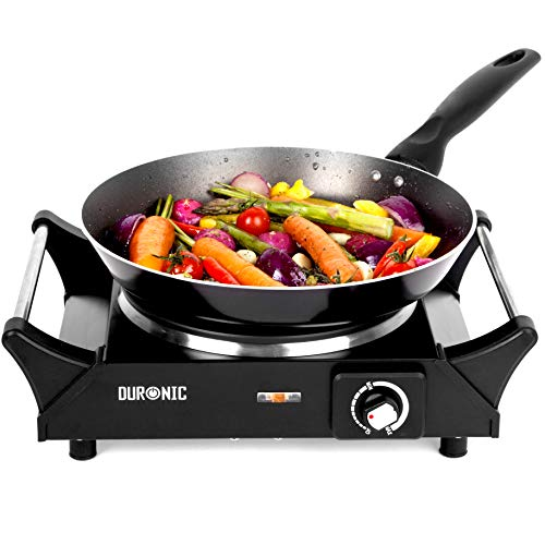 Duronic Hot Plate HP1BK | for Table-Top Cooking | 1500W |...