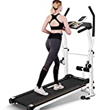 Mechanical Walker Home Small Treadmill Silent Folding Treadmill Indoor Multi-Functional Fitness Equipment