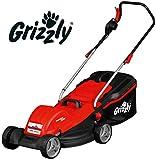 Tondeuse à gazon électrique Grizzly ERM 1844 G, 1800 Watt, largeur de coupe 44cm, y compris la tondeuse à gazon pour enfants