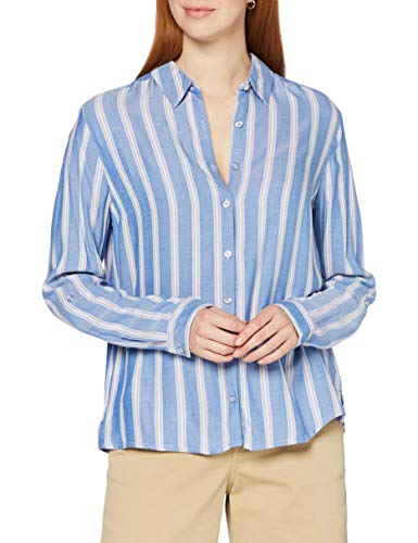 Cecil Damen 342269 Bluse, Blouse Blue, Large