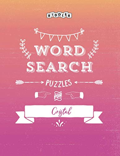 Word Search Puzzles for Cristal