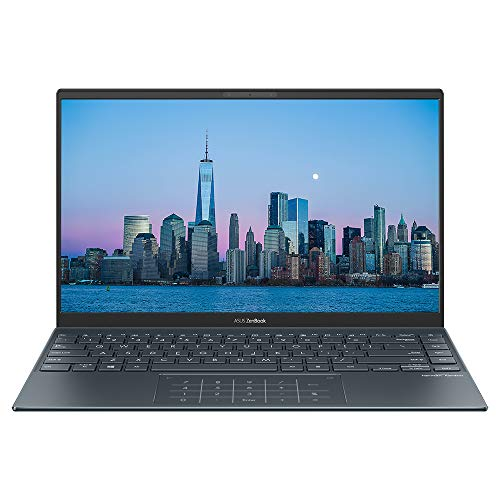 "ASUS ZenBook 14 UX425JA 14"" Full HD Professional Laptop (Intel Core i7-1065G7, 16GB RAM, 512GB M.2 NVMe PCIe 3.0 SSD, NumberPad, WiFi 6, Windows 10 Professional) Includes additional connector dongles"