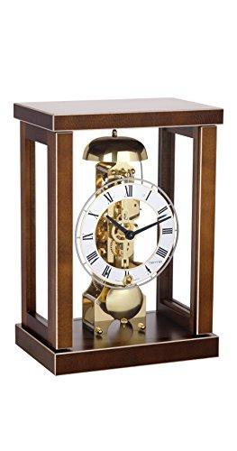Hermle Horloge de table moderne design puriste en bois massif d'érable avec une réserve de marche de 14 jours