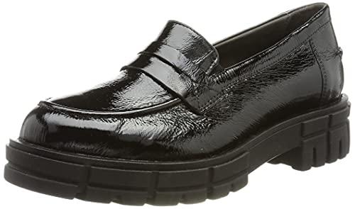 CAPRICE Damen 9-9-24753-27 Slipper, Black Naplak, 42 EU