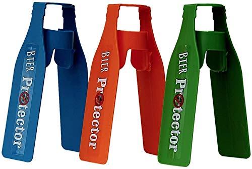 sl-Eisblock Bier Protector - Der Insektenschutz für Bierflaschen - 3 Stück, mehrfarbig, 4260426585017
