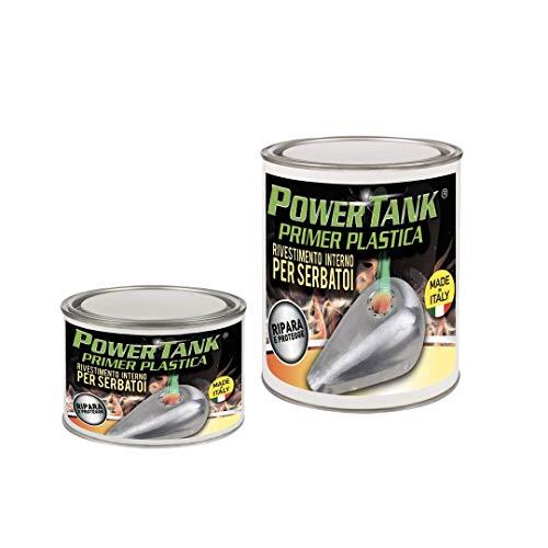 Lux Metal Power Tank Primer Trattamento ripara per Serbatoio in plastica Resina ABS - Kit Medio - 360 Grammi