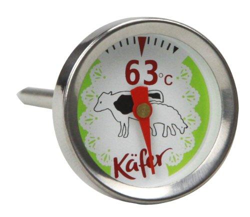 Käfer T419S Grill- und Fleisch-Thermometer für Rind und Lamm, analog
