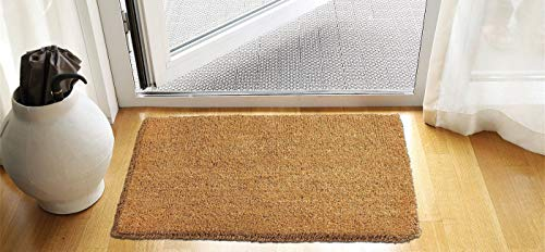 Kempf Natural Coco Doormats - Keep Your Floors Clean - Make Your House Stylish and Chic with Coco Coir (18 x 30-inch)