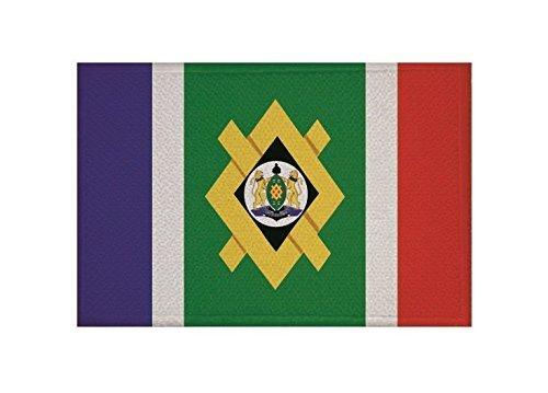 UB Aufnäher Johannesburg Flagge/Fahne Aufbügler Patch 9 cm x 6 cm Neuware!!!